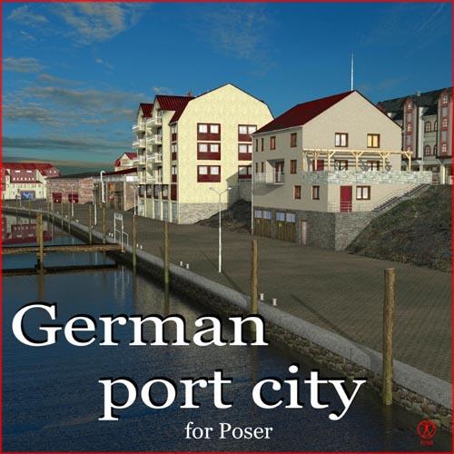 German port city