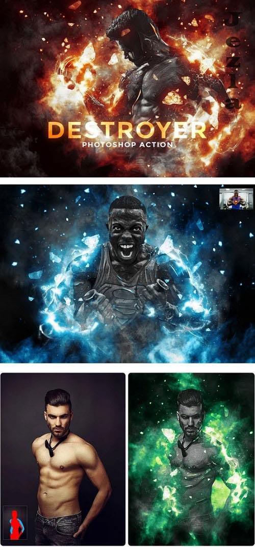 Destroyer - Photoshop Action