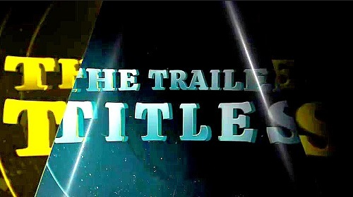 Trailer Titles 751825 - Project for After Effects