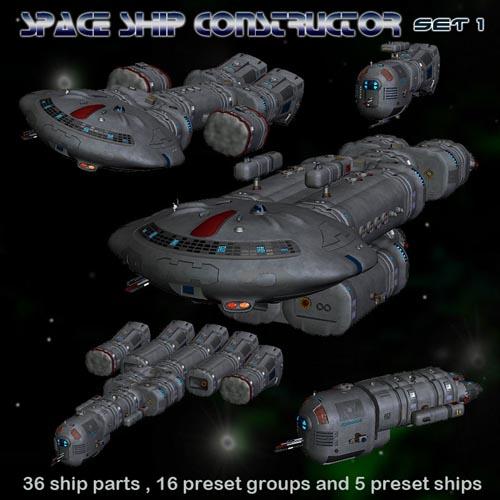 Space Ship Constructor Set 1