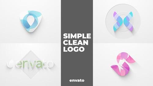 Videohive - Simple Clean Logo - 32549445