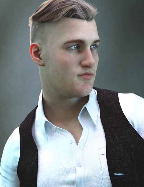 Tate HD for Genesis 8.1 Male and Fred 8.1
