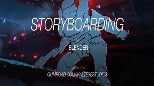 Artstation - Storyboarding in Blender