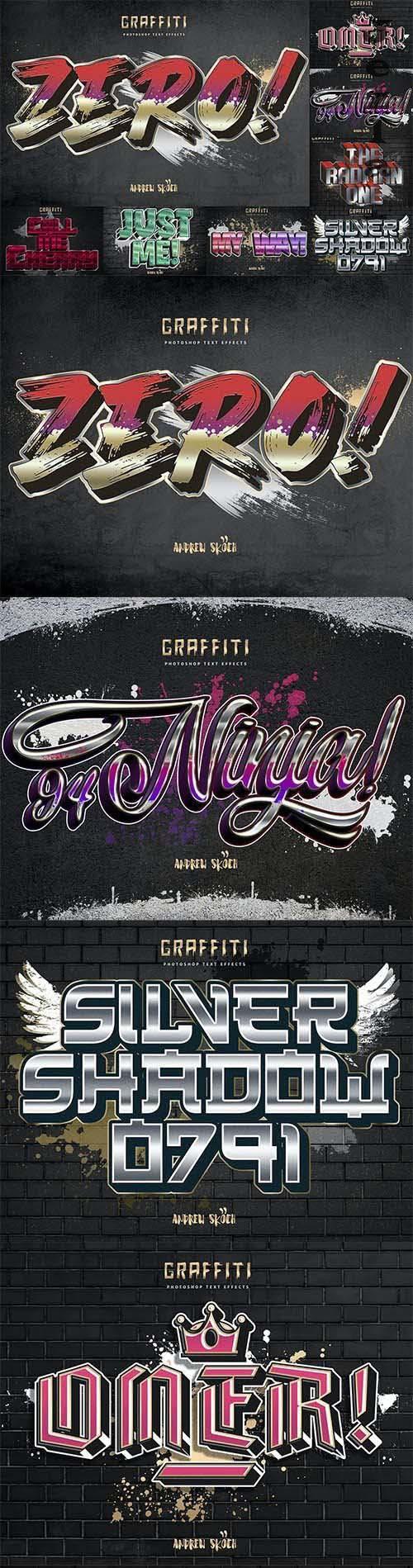 Graffiti Text Effeect vol 4