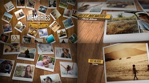 Videohive - Memories Photo Gallery 21332983