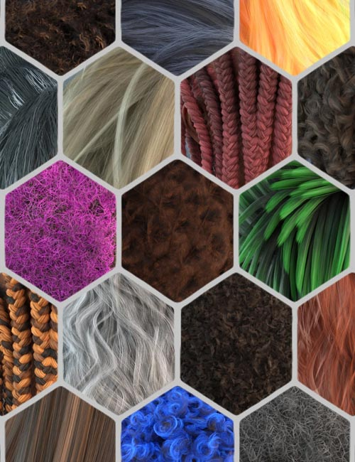 FSL Realistic Hair Shaders for Iray and Filament