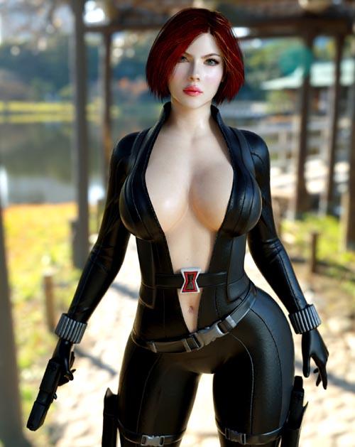 Black Widow WS Genesis 3 Female