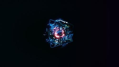 Videohive - Lightning Energy Logo Opener - 31029488