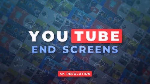 Videohive - YouTube End Screens 4K v.2 - 32809059