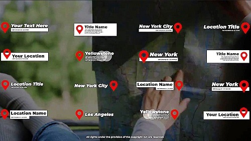 Location Titles 966031 - Project for After Effects