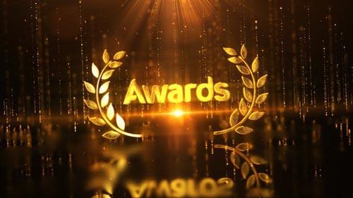 Videohive - Gold Luxury Award Logo Reveal - 32257013