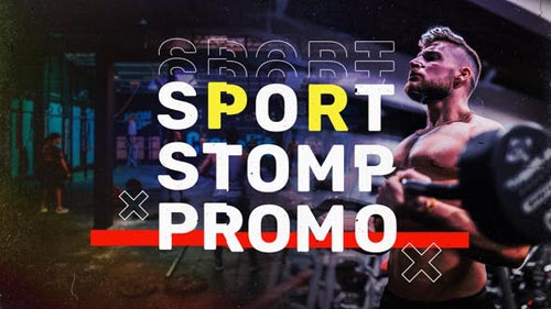 Videohive - Sport Stomp Promo - 32079312