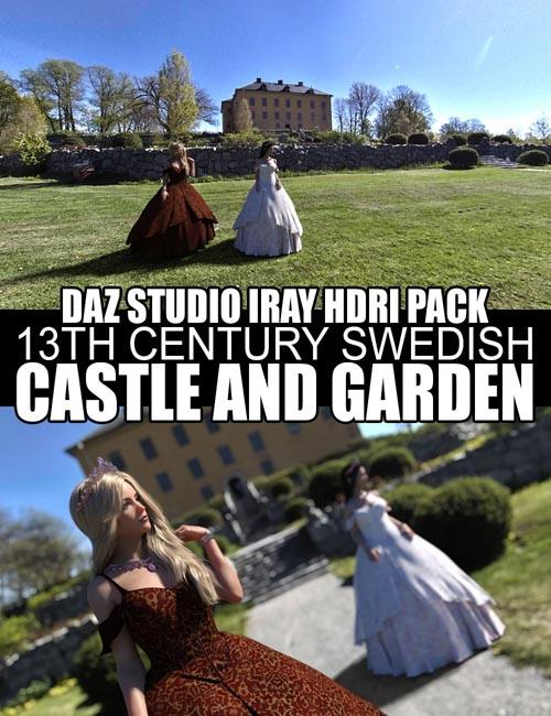 Swedish Castle And Garden - DAZ Studio Iray HDRI Pack