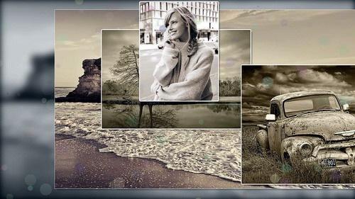 ProShow Producer - Cinematic Sepia Slideshow