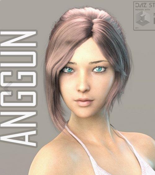 Anggun For Genesis 8 Female (Beautiful Asian Girl)