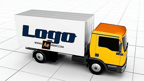 Truck Logo 621 - Project for After Effects