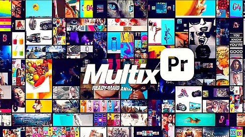 Multix - Transitions Grids Overlays Wipes - Premiere Pro Templates