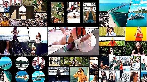 Multi Screen Frames Pack 883589 - Final Cut Pro Templates