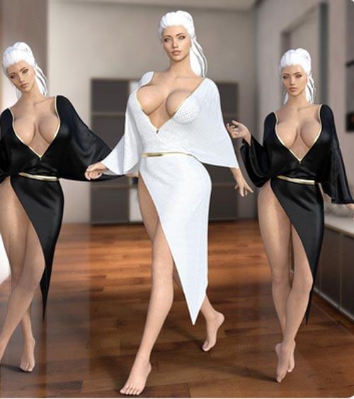 dForce Slit Dress IV
