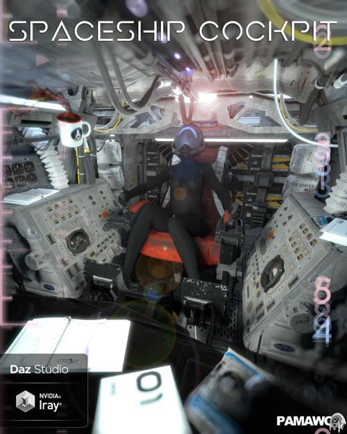 Spaceship Cockpit For DS