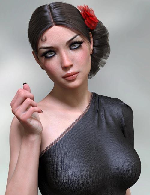 Oona HD for Genesis 8 Female