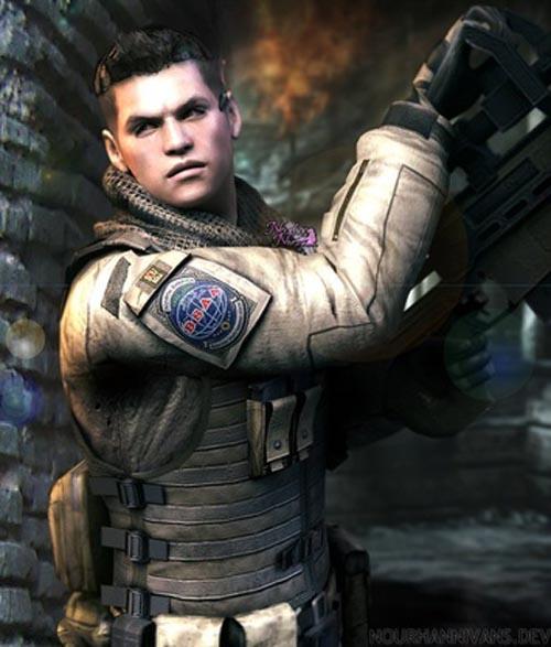 Resident Evil 6 Piers Nivans in Daz G8M