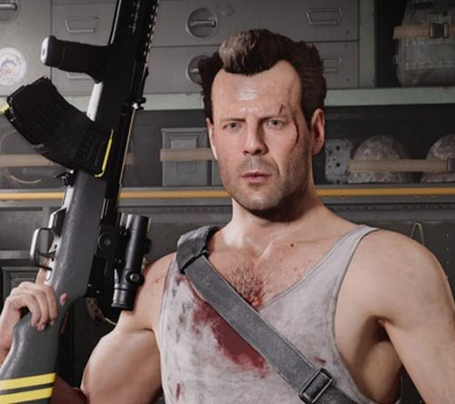 Call of Duty Cold War John McClane in Daz for G8M