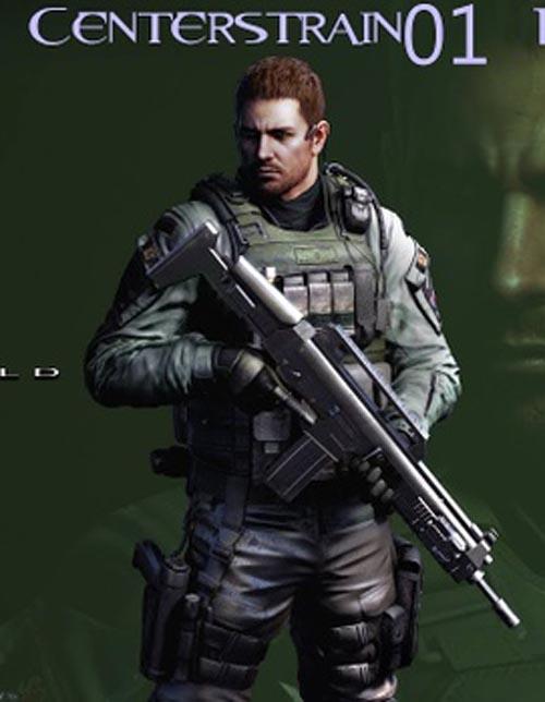 Resident Evil 6 Chris Redfield in Daz G8M
