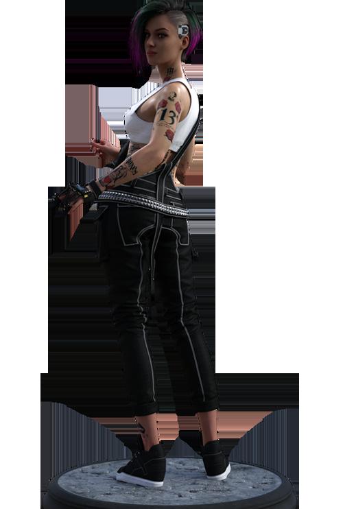 Cyberpunk 2077 Judy Alvarez in Daz G8F