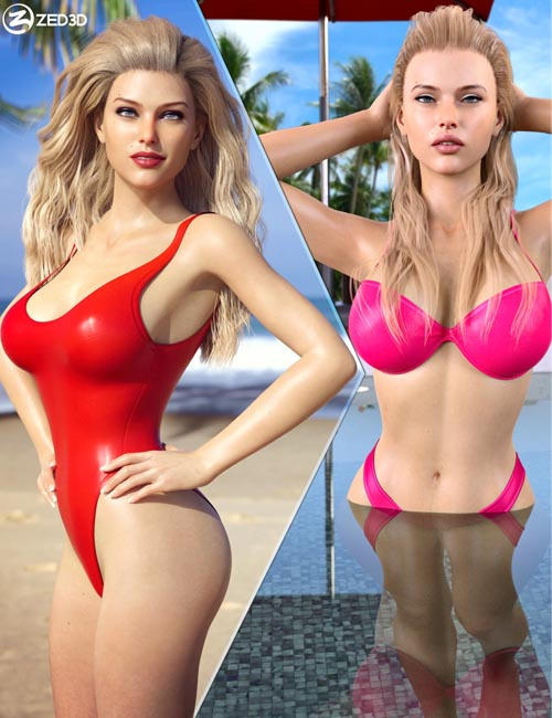 Z Summer Beauty Shape and Pose Mega Set