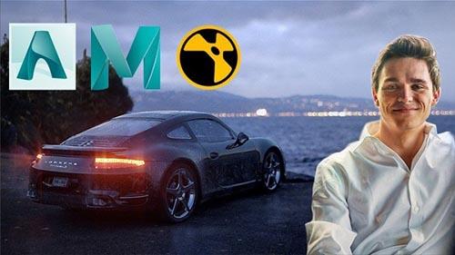 Udemy - Arnold, Maya, Nuke - Intro to 3D Rendering Live Action VFX