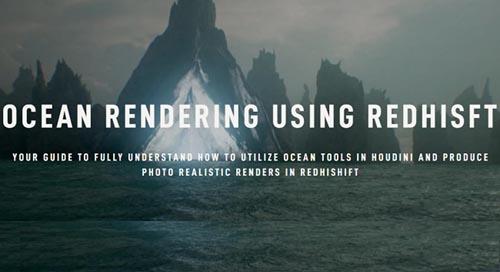 Rebelway - Ocean Rendering Using Redshift