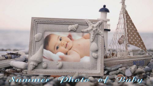 ProShow Producer - Summer Photo of Baby
