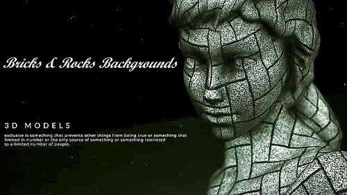 24 - Bricks & Rocks Backgrounds 945355 - Project for After Effects