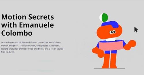 Motion Design School - Motion Secrets with Emanuele Colombo