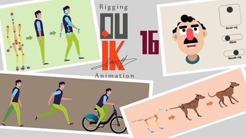 Udemy - Rigging a Character with Duik Bassel in After Effects