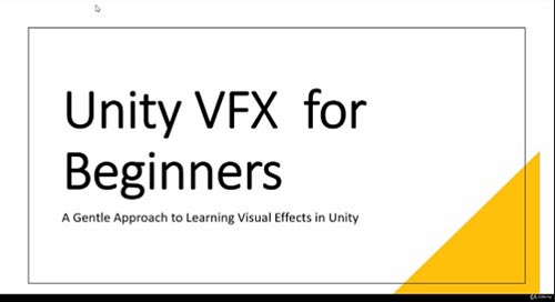 Udemy - Unity Visual Effects Graph for Beginners