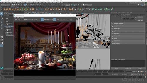 The Gnomon Workshop - Lighting & Look Dev Essentials Vol. 2: Shading & Texturing