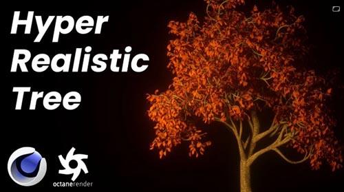 Skillshare - How to make an Easy Realistic Nature Tree Scene in Cinema 4D Octane