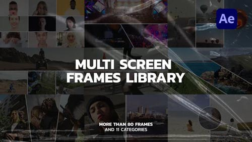 Videohive - Multi Screen Frames Library - 32563837