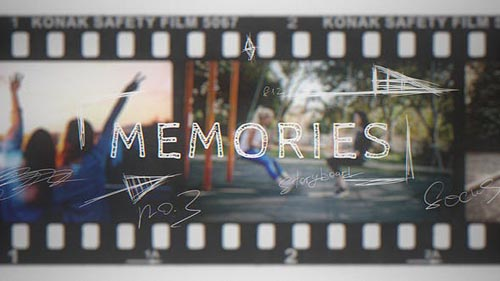 Videohive - Memories   Vintage Film Slideshow - 21968412