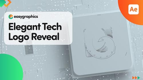 Videohive - Elegant Tech Logo Reveal - 3256797