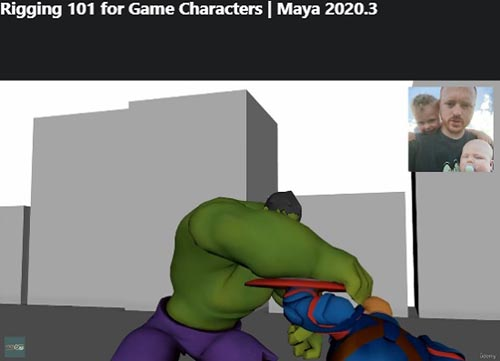 Udemy - Rigging 101 For Game Characters Maya 2020.3