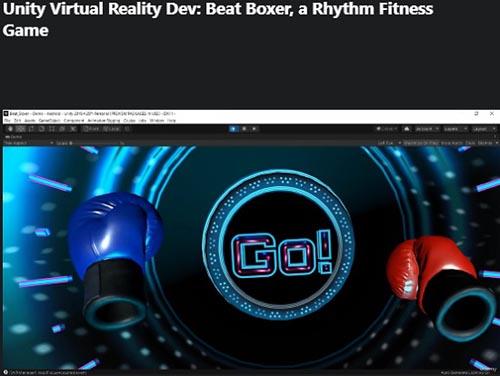 Udemy - Unity Virtual Reality Dev Beat Boxer, a Rhythm Fitness Game