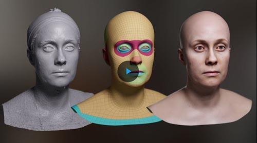 The Gnomon Workshop - Creating Digital Doubles With Single-Camera Photogrammetry