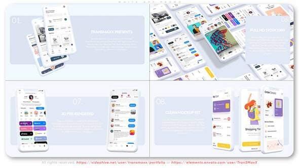 Videohive - White App Promo - 31382775