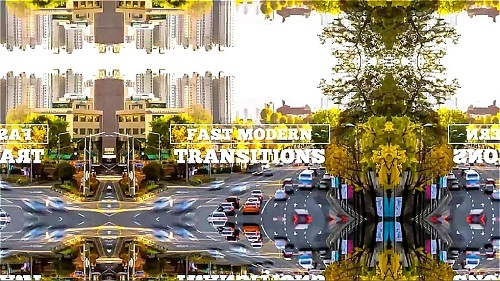 Transitions - Fast Modern + Music 303839 - Premiere Pro Presets