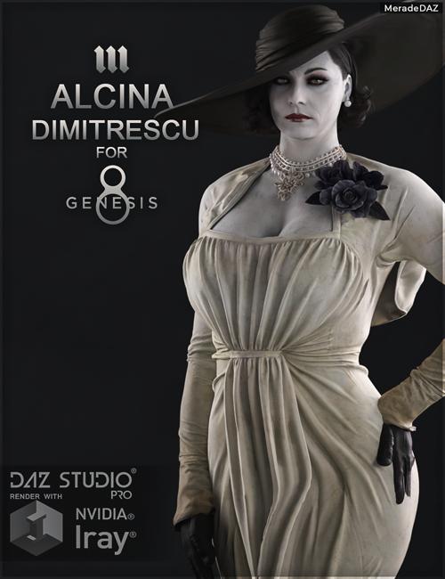 Alcina Dimitrescu for Genesis 8 and 8.1 Female