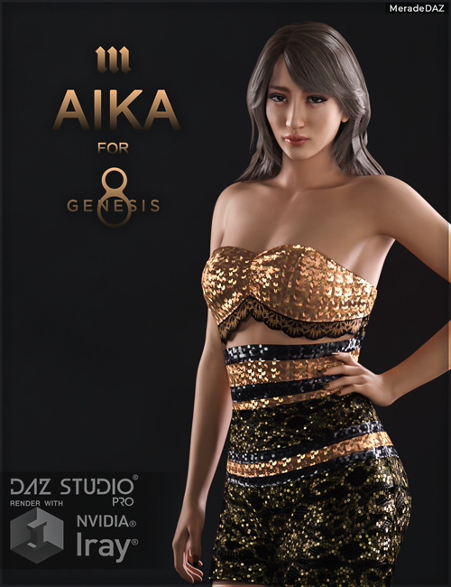 Aika for Genesis 8 and 8.1 Female