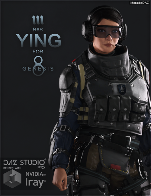 R6S Ying for Genesis 8 and 8.1 Female